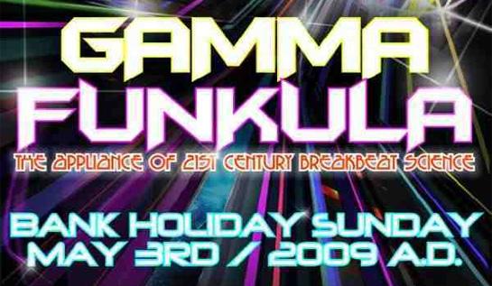 Gamma Funkula May 2009